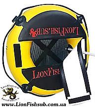 """Буй для дайвинга LionFish.sub """"Freedaiv Lightweight"""". Лёгкий, Круглый, Прочный, Долговечный Freediving Buoy"""