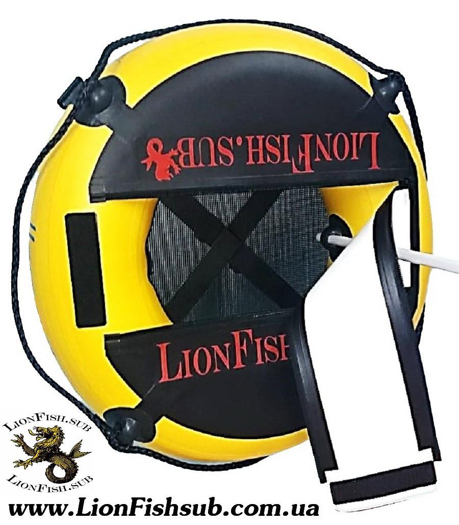 """Буй для дайвинга LionFish.sub """"Freedaiv Lightweight"""". Лёгкий, Круглый, Прочный, Долговечный Freediving Buoy, фото 1"""