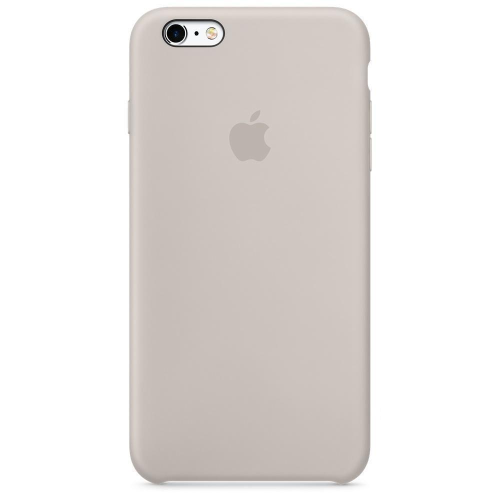 Чехол накладка silicone case для iphone 6/6s/6S+ - stone