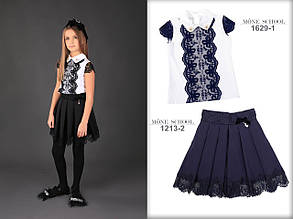 Школьная юбка для девочки Школьная форма для девочек MONE Украины 1213