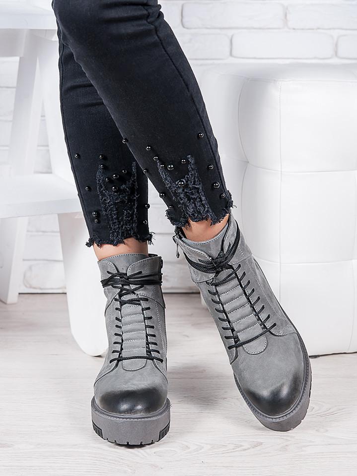 Ботинки кожаные Mart!ins