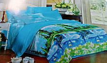 Комплект постельного белья от украинского производителя Polycotton Полуторный T-90948