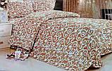 Комплект постельного белья от украинского производителя Polycotton Полуторный T-90959, фото 2
