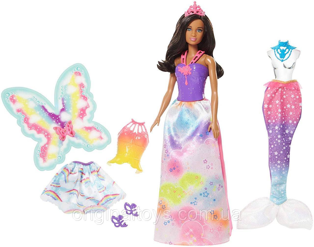 Лялька Барбі Дримтопия Чарівне перевтілення Barbie Dreamtopia FMV93