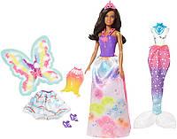 Лялька Барбі Дримтопия Чарівне перевтілення Barbie Dreamtopia FMV93, фото 1