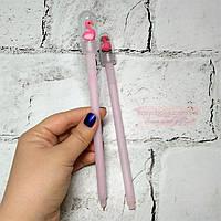 Ручка гелевая с Фламинго