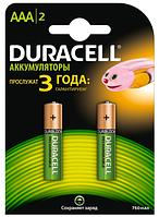 Аккумулятор Duracell AAA 750 mAh 2 шт