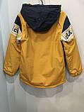 Демисезонная куртка для мальчика 116-146 см, фото 4