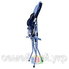 Стульчик для кормления 2в1. Столик съемный. Стульчик трансформируется в удобный стульчик.  HC100A BLUE, фото 3
