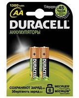 Аккумулятор Duracell AA 1300 mAh 2 шт