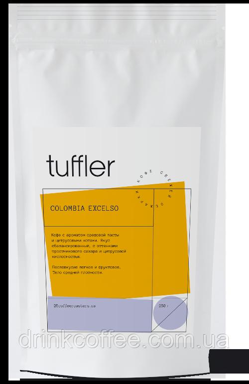 Кофе COLOMBIA EXCELSO, Tuffler, 1 кг