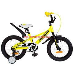 Детский велосипед Formula Jeep 16 дюймов желтый