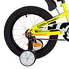 Детский велосипед Formula Jeep 16 дюймов желтый, фото 5