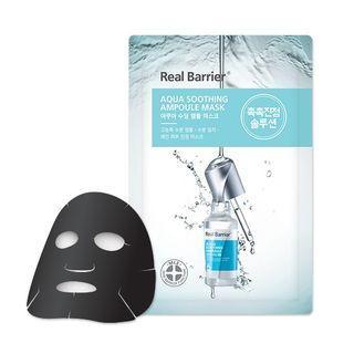 Real Barrier Aqua Soothing Ampoule Mask Успокаивающая ампульная маска