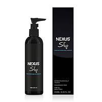 Интимная смазка на водной основе для анального секса Nexus Slip Thick Waterbased Anal Lubricant 250 ml