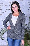 Модный женский пиджак,размеры:44,46,48,50., фото 5