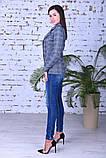 Модный женский пиджак,размеры:44,46,48,50., фото 9