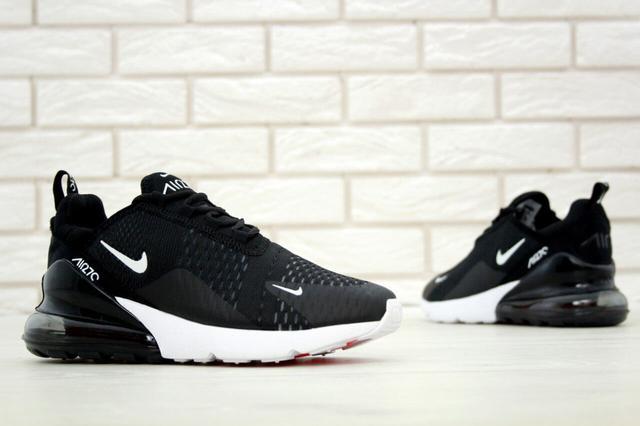 Кроссовки Nike Air Max 270 черно-белые фото