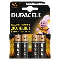 Батарейки пальчиковые Duracell LR6 AА 4 шт