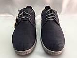 Весенние мужские мокасины на шнурках Bertoni, фото 2
