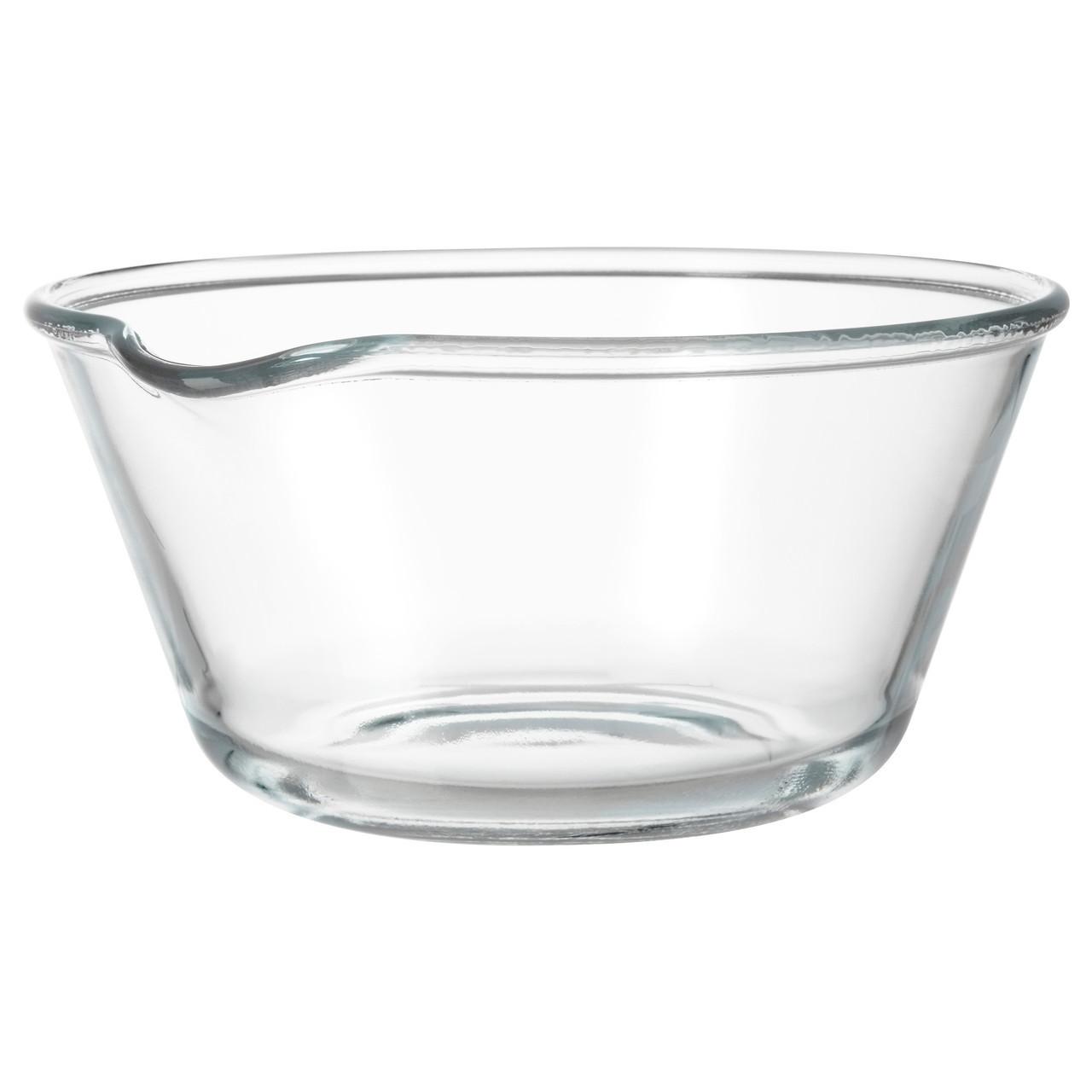 VARDAGEN Миска, прозрачное стекло 702.892.48