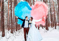 Купить цветной дым для свадебной фотосессии: плюсы и минусы