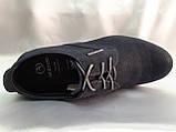 Весенние мужские мокасины на шнурках Bertoni, фото 8