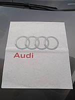 Паперові килимки 400 шт для салону автомобіля з логотипом Audi в пачці