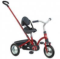 Детский металлический велосипед  Зуки багажником, красный (740800)