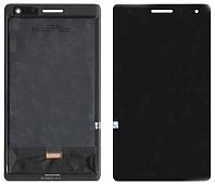 Дисплей для планшета Huawei MediaPad T3 7 3G(BG2-U01) Чёрный, с cенсорным экраном