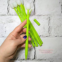 Ручка гелевая светодиод Тюльпан