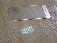 Защитное стекло полноэкранное для Huawei Nova (can-L11) золотое