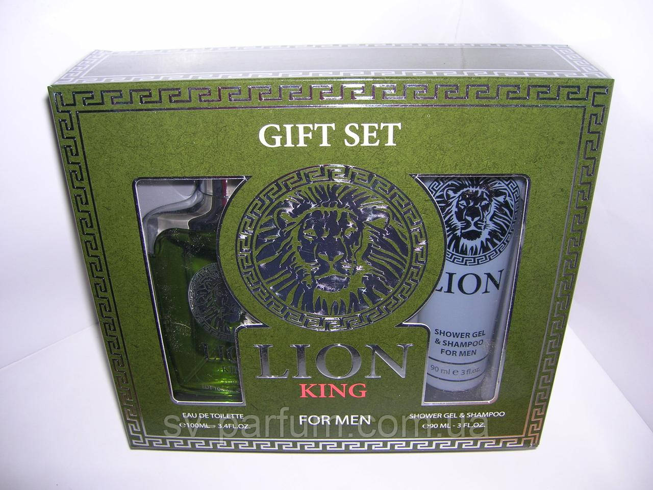 Набор мужской Lion King (т.в.100+гель для душа)