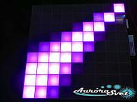 Светодиодная пиксельная панель напольная F-111-9*9-1-C
