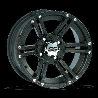 Колесный диск на квадроцикл — ITP SS212 Black 14×6 4+2 4/136, фото 1
