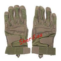 Перчатки тактические полнопалые Blackhawk Ful Finger Olive (размер - XL)