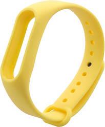 Оригінальний ремінець для фітнес-браслета Xiaomi Mi Band 2, Yellow