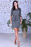 Модное женское платье,ткань французский трикотаж,размеры:44,46,48., фото 4