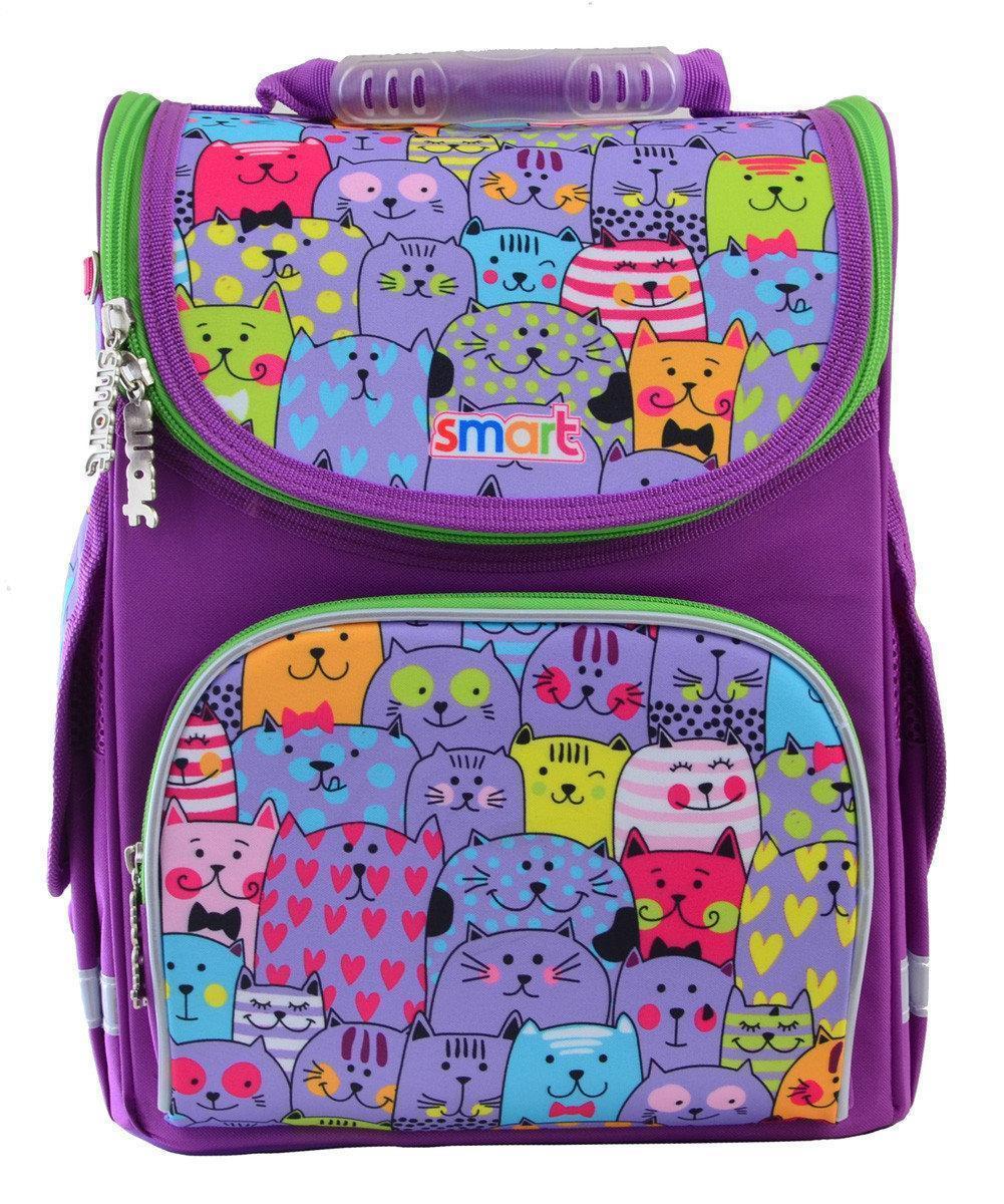 Рюкзак школьный, каркасный 1 Вересня Smart PG-11 Kotomania