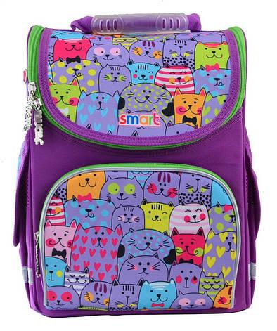 Рюкзак школьный, каркасный 1 Вересня Smart PG-11 Kotomania, фото 2