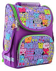 Рюкзак школьный, каркасный 1 Вересня Smart PG-11 Kotomania, фото 3