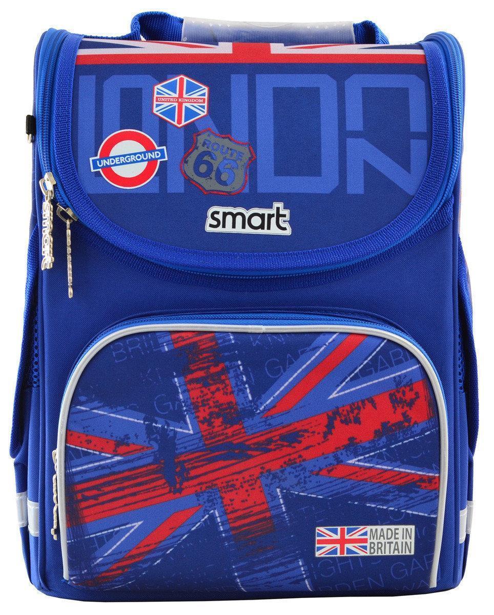 Рюкзак школьный, каркасный 1 Вересня Smart PG-11 London