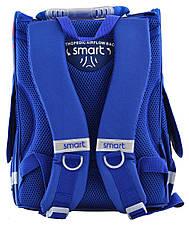 Рюкзак школьный, каркасный 1 Вересня Smart PG-11 London, фото 3