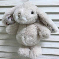 "Зайчик ""Bouncy Bunny - Pink Flower"", 15 см"