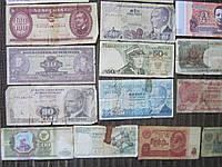 Набор банкнот мира 25 штук одним лотом Без повторов Хорошее начало коллекции! №2