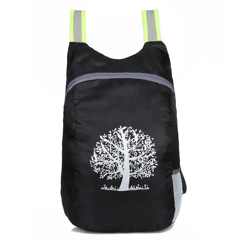 Компактный легкий туристический рюкзак HW500, из водоотталкивающего нейлона, 15л