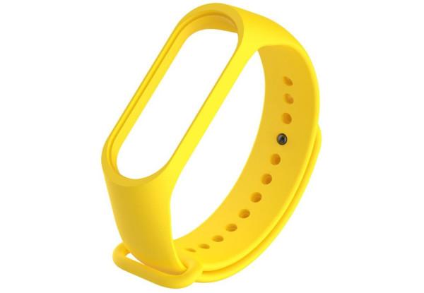 Оригинальный ремешок для фитнес-браслета Xiaomi Mi Band 3/ Mi Band 4, Yellow