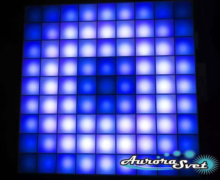 Светодиодная пиксельная панель напольная F-111-9*9-1-P
