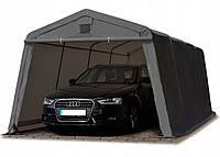 Павильон гаражный 3,3x6,2 м ПВХ 500 г/м² (Серый)