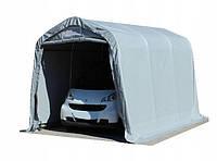 Павільйон гаражний 2,4x3,6 м ПВХ 550 г/м2 (Сірий), фото 1